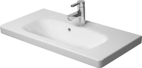 duravit durastyle waschtische waschtisch m belwaschtisch compact 233778 von duravit. Black Bedroom Furniture Sets. Home Design Ideas