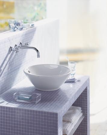duravit bacino aufsatzwaschbecken waschschale von duravit bacino. Black Bedroom Furniture Sets. Home Design Ideas