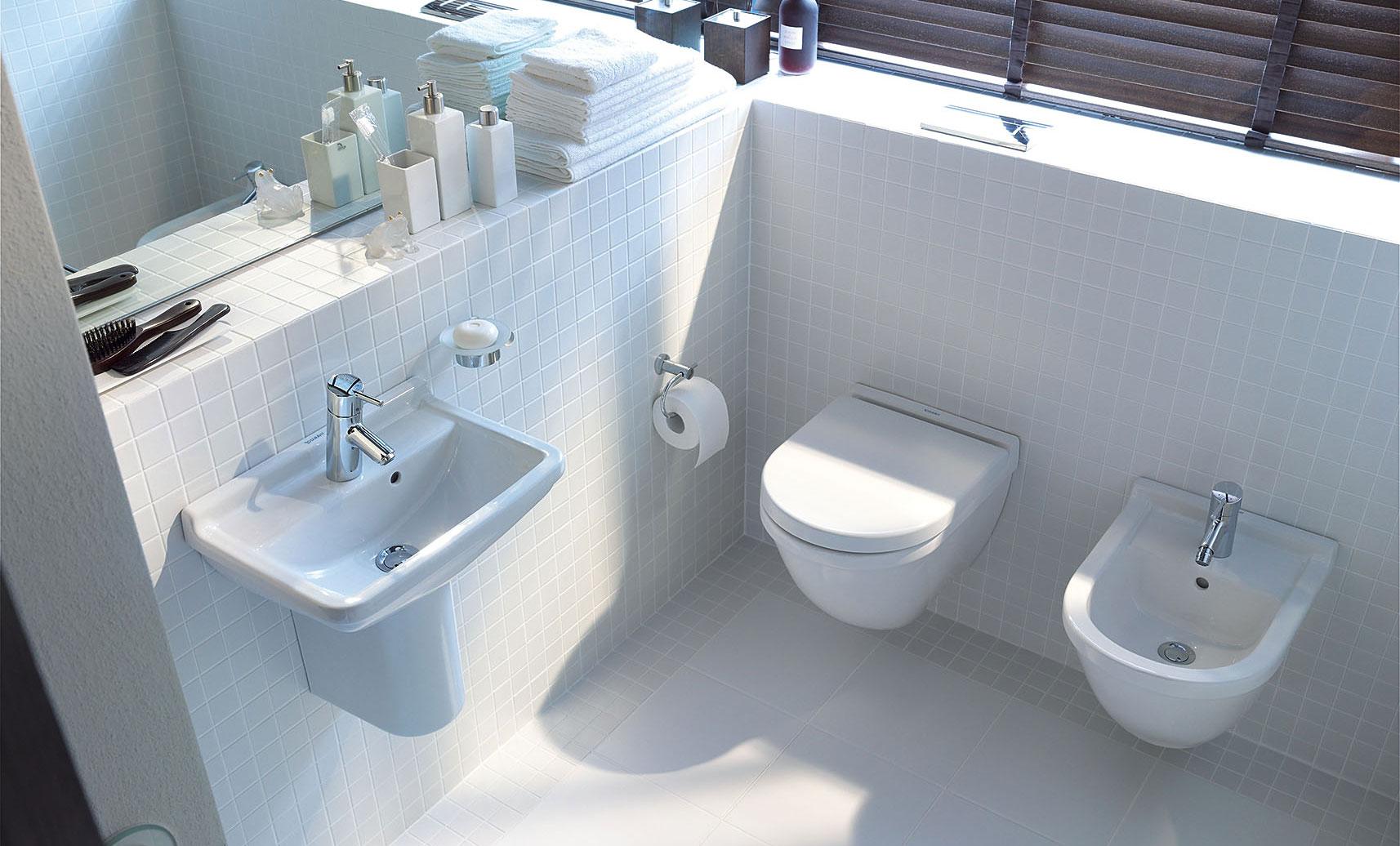 Il bagno per gli ospiti duravit