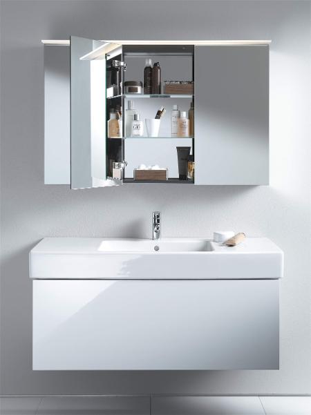 Armoires de toilette & miroirs avec éclairage   Duravit